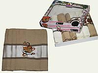 Вафельное Полотенце для кухни  40х70 (6шт в упаковке)цена за уп