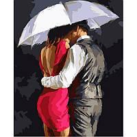"Раскраска по цифрам ""Романтика под зонтом Худ МакНейл Ричард """
