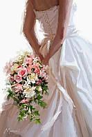 "Раскраска по цифрам ""Букет невесты Худ МакНейл Ричард"""