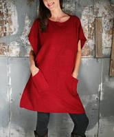 Тёплая туника-свитер Безразмерная!