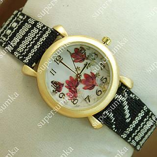Яркие наручные часы Topten Art 006.2 Gold/White 3702