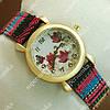 Кварцевые наручные часы Topten Art 006.6 Gold/White 3706