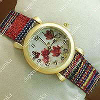 Молодежные наручные часы Topten Art 006.7 Gold/White 3707