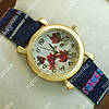 Яркие наручные часы Topten Art 006.9 Gold/White 3709