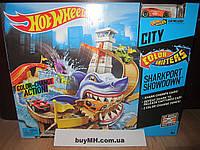 Трек Хот Вилс порт акула Измени цвет Hot Wheels Color Shifters Sharkport Showdown Trackset