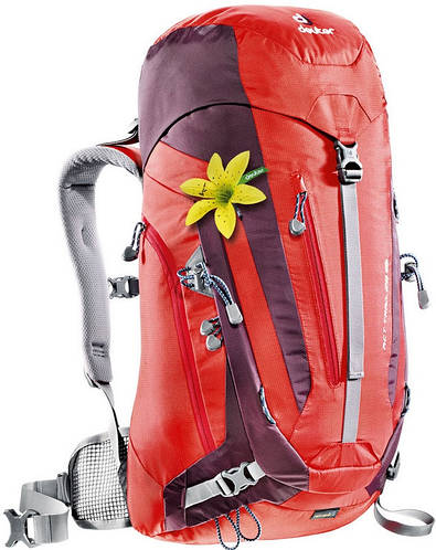Женский удобный туристический рюкзак DEUTER ACT Trail 28 SL 3440215 5513 оранжевый
