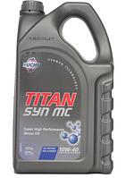 Полусинтетическое моторное масло TITAN (Титан) SYN MC SAE 10W-40 4л.