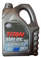 Полусинтетическое моторное масло TITAN (Титан) SYN MC SAE 10W-40 5л.