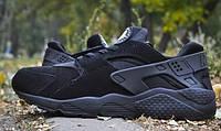 Nike Air Huarache Tout Noir черный / мужские кроссовки / осень-весна
