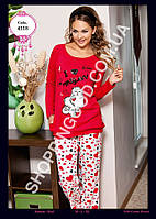 """Женская пижама Anit 4318, костюм домашний с брюками """"Кошка"""""""