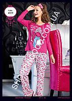Женская пижама Anit 4319, костюм домашний с брюками