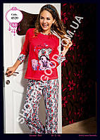 Женская пижама Anit 4320, костюм домашний с брюками