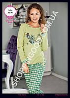 Женская пижама Anit 5006, костюм домашний с брюками Батальный Размер