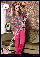 Женская пижама Anit 5012, костюм домашний с брюками Батальный Размер