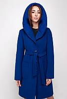 Пальто кашемировое демисезонное   с капюшоном NIO Рианна
