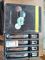 Накладки на ручки на Мицубиси Ланцер-9 OMSALINE (нерж.)