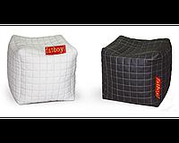 Пуфик-Кубик белый/черный (Матролюкс ТМ)