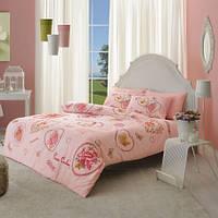 Комплект постельного белья PIERRE CARDIN перкаль Chelsy розовый