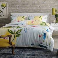 Комплект постельного белья PIERRE CARDIN перкаль Juana зеленый