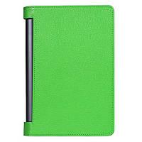 Кожаный чехол для Lenovo Yoga Tablet 3 Pro 10 зелёный