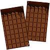 Визитница плитка шоколада