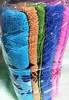 Велюровые метровые полотенца 3138
