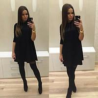Короткое расклешенное платье трапеция Vida x-203278
