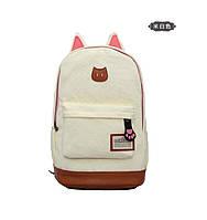 Стильный  рюкзак с ушками, разные цвета