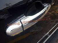 Хромированные накладки на дверные ручки для Hyundai ix35 2010-2013