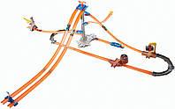 Трек Hot Wheels Track Builder Mega Pack Хот Вилс серия Собери все треки Оригинал