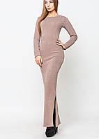Платье в пол из ангоры | Аля leo