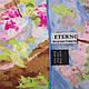Женский нежный шелковый платок размером 86*86 см ETERNO (ЕТЕРНО) ES2611-12, фото 2