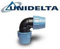 Колено Зажимное 110 (Unidelta)