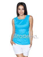 Блуза с поясом до 50 р., фото 1