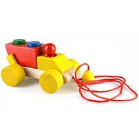 Деревянная игрушка Каталка ― конструктор Самосвал Ду-07 Руди