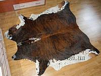 Шкура коровы коричнево-белая 03