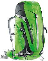 Туристический мужской рюкзак DEUTER ACT Trail PRO 40 3441315 2431 зеленый