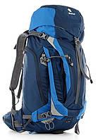 Туристический удобный мужской рюкзак DEUTER ACT Trail PRO 40, 3441315 3980 синий