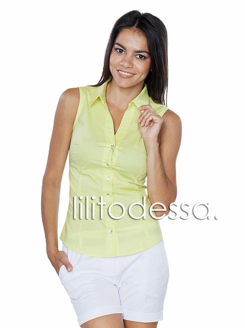 Блузка безрукавка