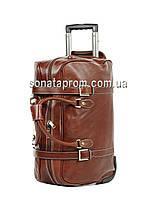Дорожная сумка кожаная на колесах Katana 33157