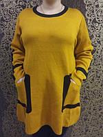 Туника женская с прорезными карманами , фото 1