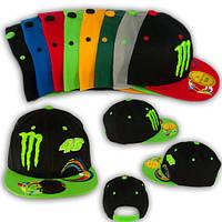 """Модная кепка для подростка с прямым козырьком """"Monster 46"""""""