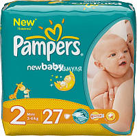 Подгузники Pampers Active baby р.2 3-6кг 27шт