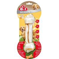 Лакомство для собак Кость с куриным мясом 8in1, 20 см (L)