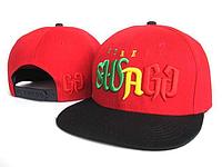 Кепка Swag Street Snapback Red-Black