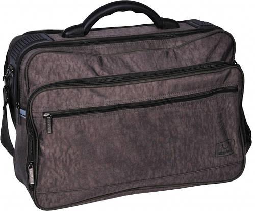 "Качественная мужская сумка ""Mr.Gross"" Bagland 20570 (хаки, черный, темно серый)"