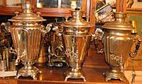 Самовары. Самовар антикварный на дровах царский с медалями рабочий жаровой подарок.