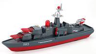 Модель металлическая Военный корабль 1:43, 1:50  SB-14-19 Технопарк
