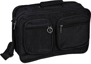 "Мужская удобная сумка ""Mr.Black"" Bagland 26470 (черный)"