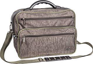 """Интересная мужская сумка """"Mr.Grey"""" Bagland 26570 (хаки)"""